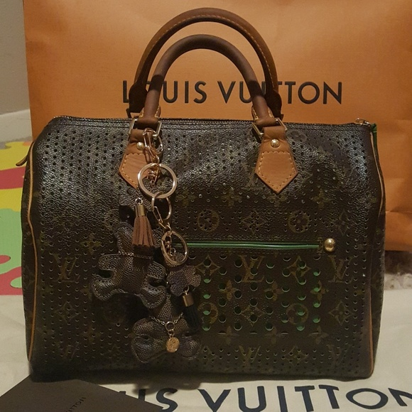 Louis Vuitton Handbags - Louis Vuitton Limited Ed Perforated Speedy